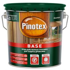 Грунтовка для защиты древесины Pinotex Base бесцветная 2,7 л