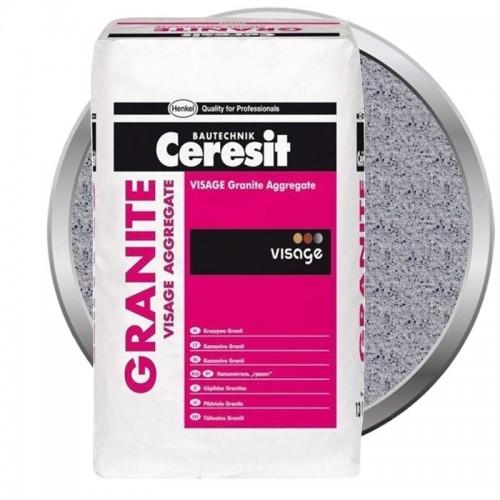 Наполнитель для декоративной штукатурки Ceresit CT 710 Visage Granite Aggregate Sardinia Grey 13 кг