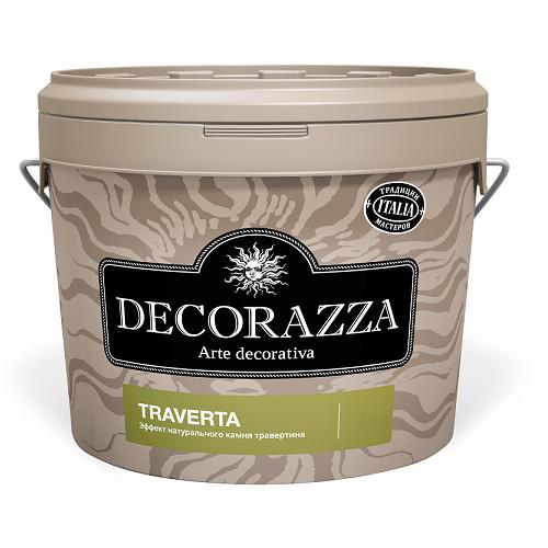 Штукатурка декоративная Decorazza Traverta ТТ 001 7 кг