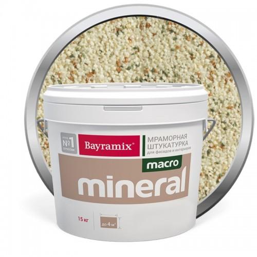 Штукатурка мраморная декоративная Bayramix Macro Mineral 1011 15 кг