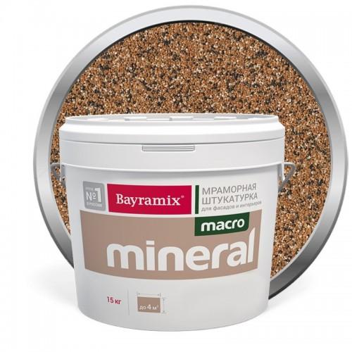 Штукатурка мраморная декоративная Bayramix Macro Mineral 1020 15 кг