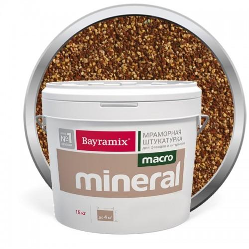 Штукатурка мраморная декоративная Bayramix Macro Mineral 1021 15 кг