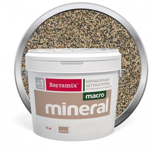 Штукатурка мраморная декоративная Bayramix Macro Mineral 1032 15 кг