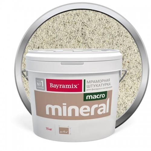 Штукатурка мраморная декоративная Bayramix Macro Mineral 1033 15 кг