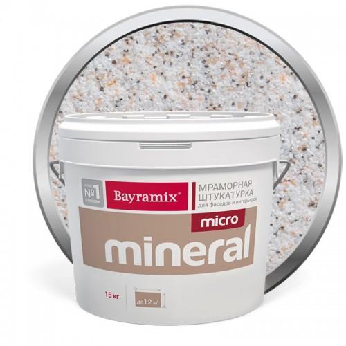 Штукатурка мраморная декоративная Bayramix Micro Mineral 609 15 кг