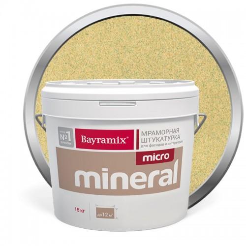 Штукатурка мраморная декоративная Bayramix Micro Mineral 613 15 кг