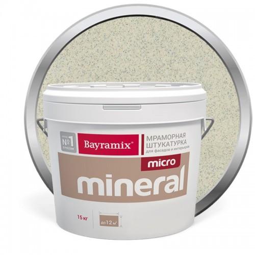 Штукатурка мраморная декоративная Bayramix Micro Mineral 614 15 кг