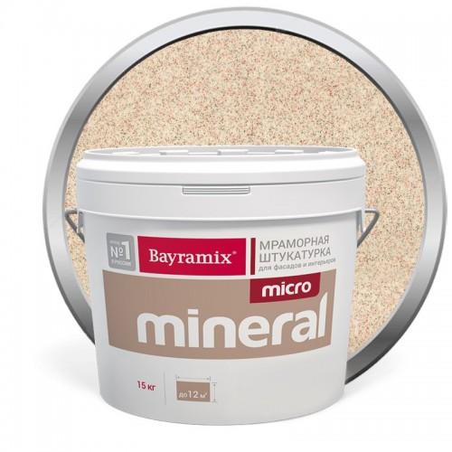 Штукатурка мраморная декоративная Bayramix Micro Mineral 619 15 кг