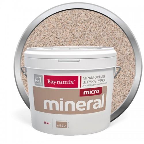 Штукатурка мраморная декоративная Bayramix Micro Mineral 620 15 кг