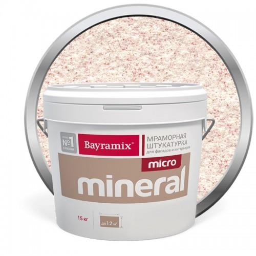 Штукатурка мраморная декоративная Bayramix Micro Mineral P-06 15 кг