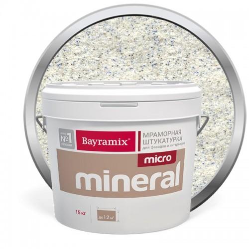 Штукатурка мраморная декоративная Bayramix Micro Mineral P-11 15 кг