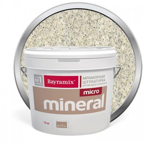 Штукатурка мраморная декоративная Bayramix Micro Mineral P-13 15 кг