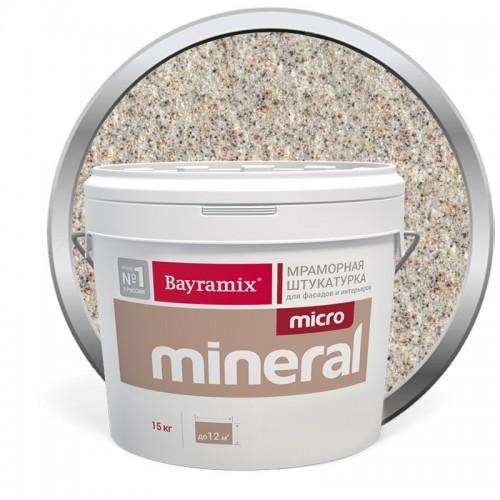 Штукатурка мраморная декоративная Bayramix Micro Mineral P-14 15 кг