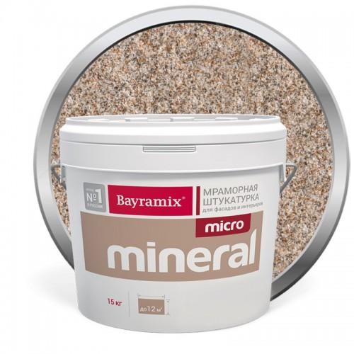 Штукатурка мраморная декоративная Bayramix Micro Mineral P-15 15 кг