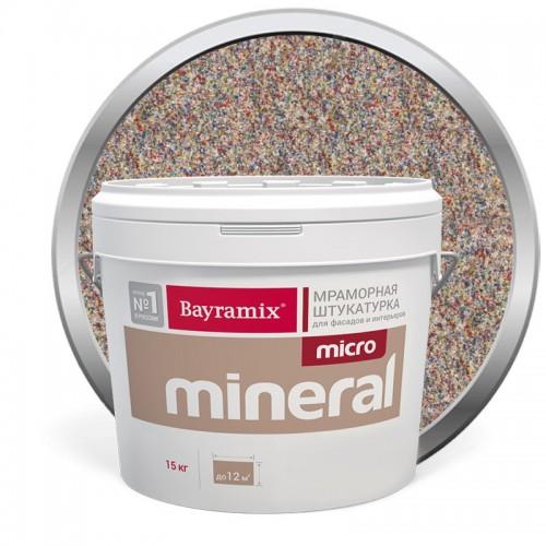 Штукатурка мраморная декоративная Bayramix Micro Mineral P-16 15 кг