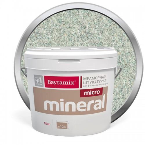 Штукатурка мраморная декоративная Bayramix Micro Mineral P-17 15 кг