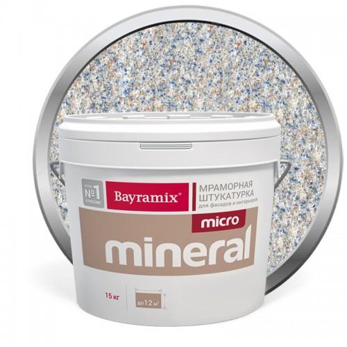 Штукатурка мраморная декоративная Bayramix Micro Mineral P-22 15 кг