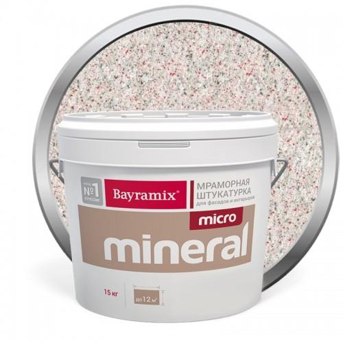 Штукатурка мраморная декоративная Bayramix Micro Mineral P-23 15 кг