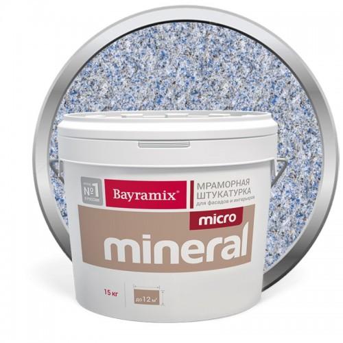 Штукатурка мраморная декоративная Bayramix Micro Mineral P-24 15 кг