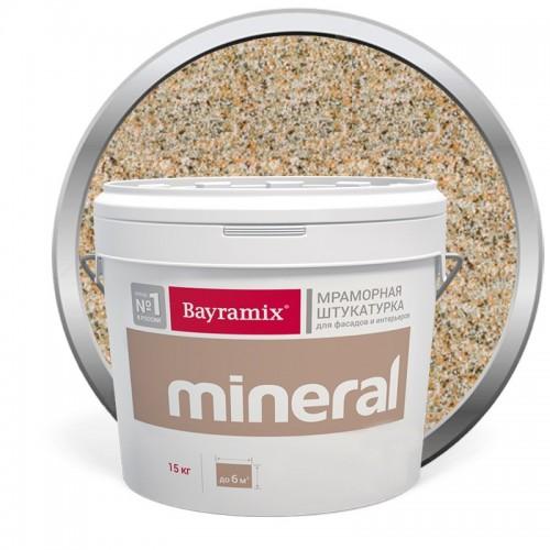 Штукатурка мраморная декоративная Bayramix Mineral 010 15 кг