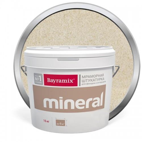 Штукатурка мраморная декоративная Bayramix Mineral 024 15 кг