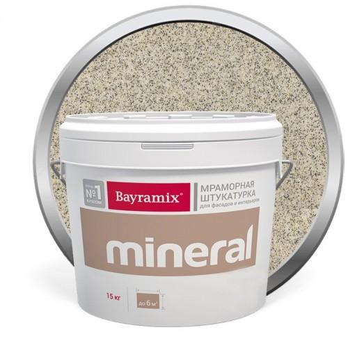 Штукатурка мраморная декоративная Bayramix Mineral 025 15 кг