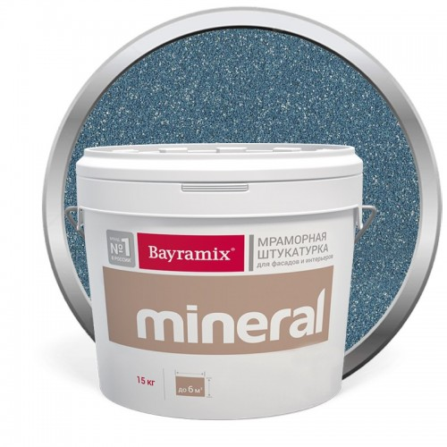 Штукатурка мраморная декоративная Bayramix Mineral 304 15 кг