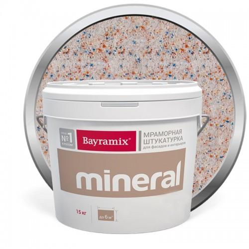 Штукатурка мраморная декоративная Bayramix Mineral 308 15 кг