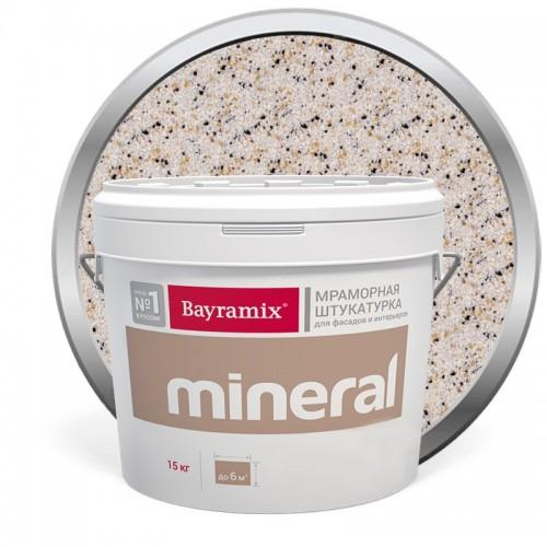 Штукатурка мраморная декоративная Bayramix Mineral 317 15 кг