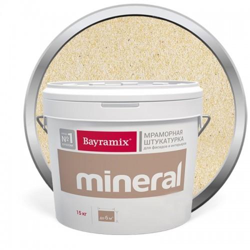 Штукатурка мраморная декоративная Bayramix Mineral 322 15 кг