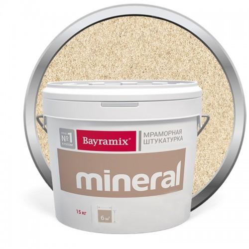 Штукатурка мраморная декоративная Bayramix Mineral 381 15 кг
