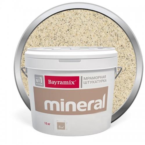 Штукатурка мраморная декоративная Bayramix Mineral 383 15 кг