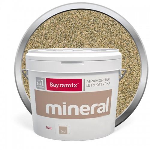 Штукатурка мраморная декоративная Bayramix Mineral 386 15 кг