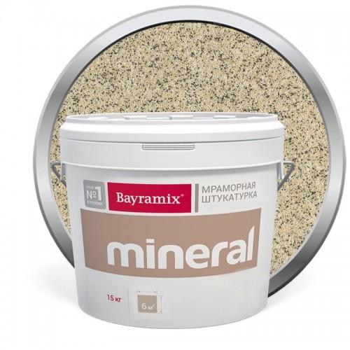 Штукатурка мраморная декоративная Bayramix Mineral 387 15 кг