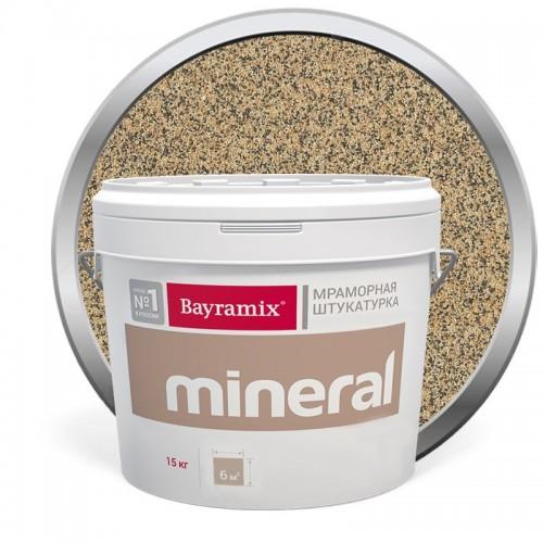 Штукатурка мраморная декоративная Bayramix Mineral 388 15 кг
