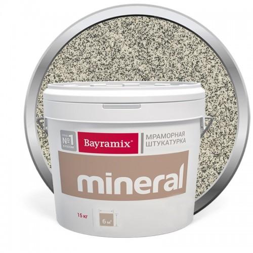 Штукатурка мраморная декоративная Bayramix Mineral 390 15 кг