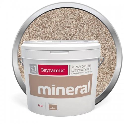 Штукатурка мраморная декоративная Bayramix Mineral 411 15 кг