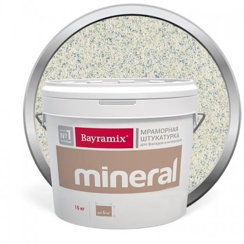 Штукатурка мраморная декоративная Bayramix Mineral 435 15 кг