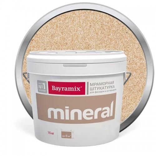 Штукатурка мраморная декоративная Bayramix Mineral 452 15 кг