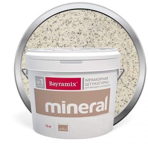 Штукатурка мраморная декоративная Bayramix Mineral 491 15 кг