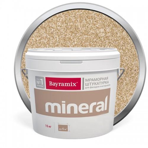 Штукатурка мраморная декоративная Bayramix Mineral 812 15 кг