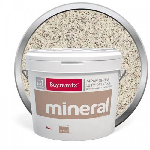 Штукатурка мраморная декоративная Bayramix Mineral 833 15 кг