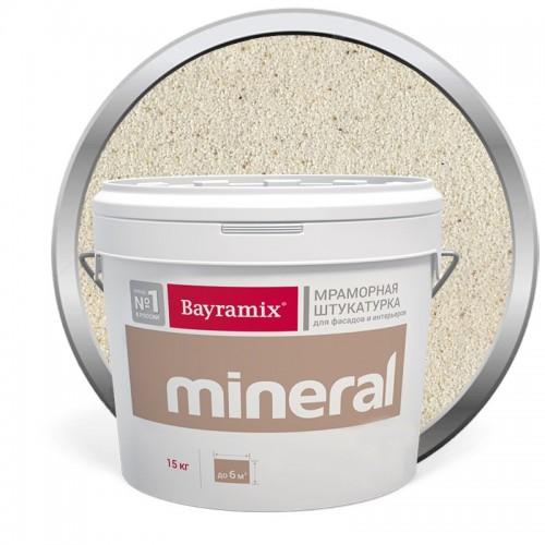 Штукатурка мраморная декоративная Bayramix Mineral 843 15 кг