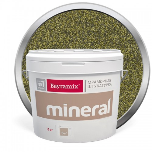Штукатурка мраморная декоративная Bayramix Mineral 851 15 кг