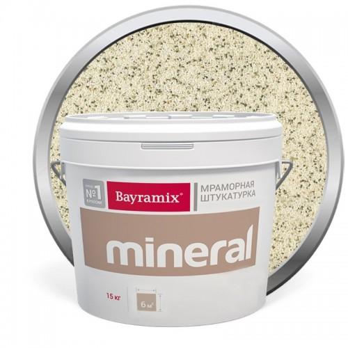 Штукатурка мраморная декоративная Bayramix Mineral 852 15 кг