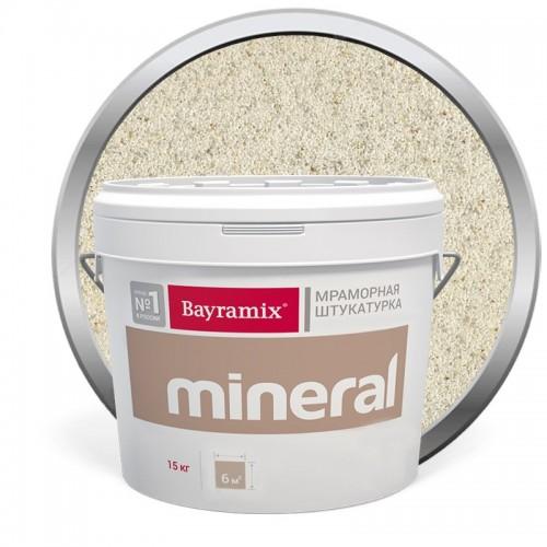 Штукатурка мраморная декоративная Bayramix Mineral 854 15 кг