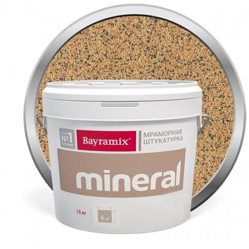 Штукатурка мраморная декоративная Bayramix Mineral 855 15 кг