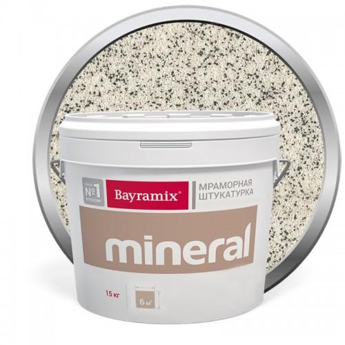 Штукатурка мраморная декоративная Bayramix Mineral 859 15 кг