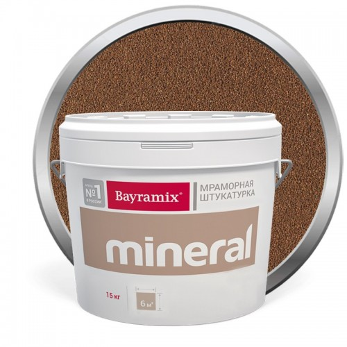 Штукатурка мраморная декоративная Bayramix Mineral 860 15 кг