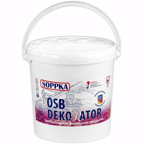 Штукатурка фасадная декоративная Soppka Dekorator 12 кг
